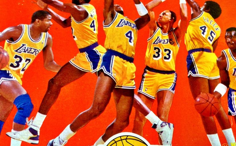 Incredible Showtime Lakers Wheaties Box. This Will Not Happen Again For A LongTime